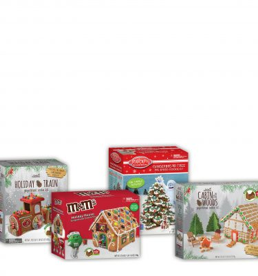Gingerbread Cookie House Kits